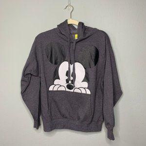 Disney Mickey Mouse Gray Hoodie